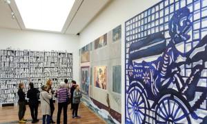 Modern freskófestők Debrecen kiállítás