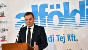 Alföldi Tej fejlesztés Debrecen