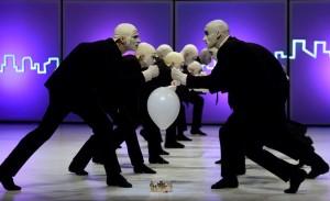 Szegedi balett bemutatója az Abszrudia táncjáték