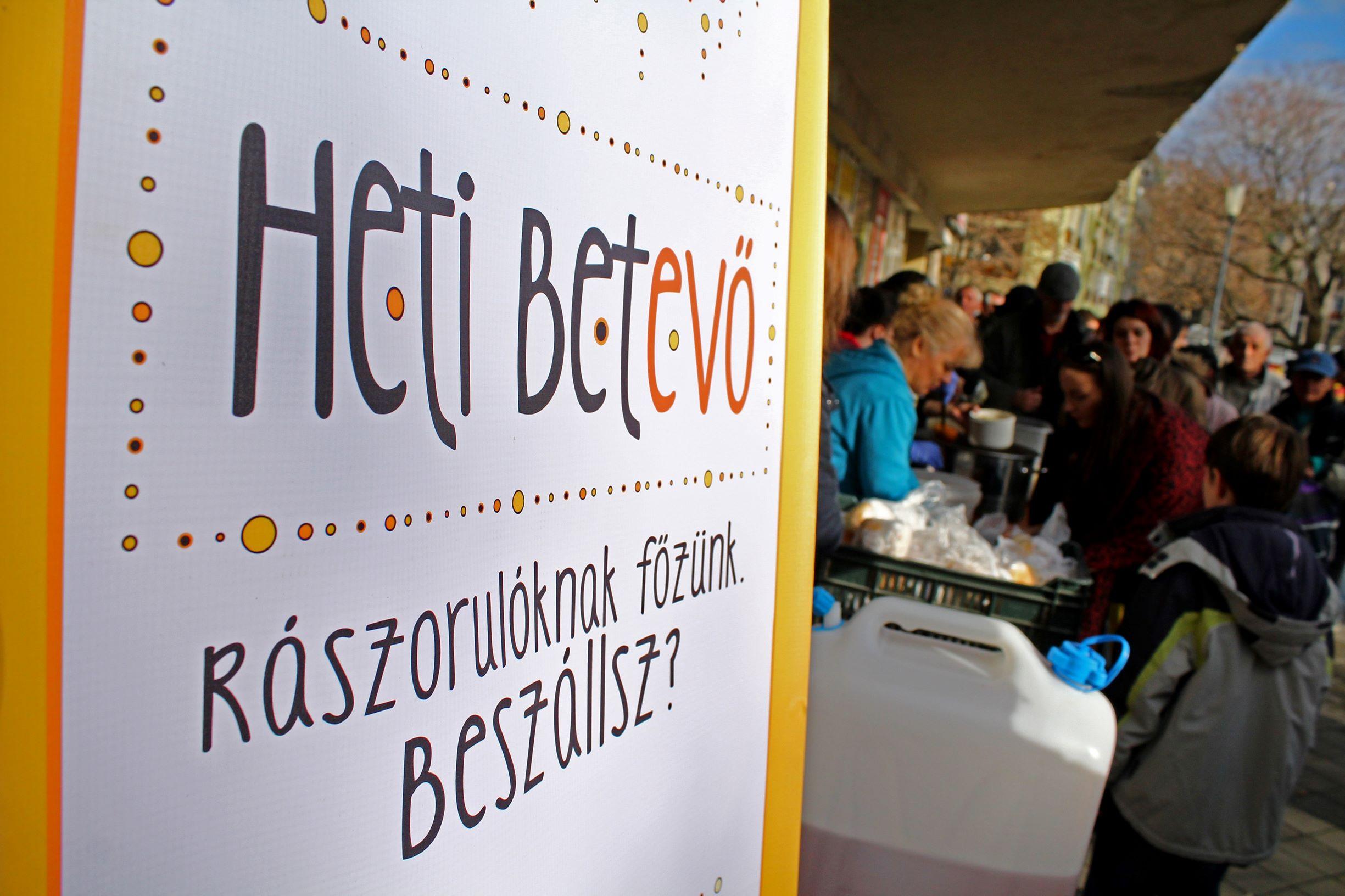 Rászorulóknak főzünk - Heti Betevő Pécs
