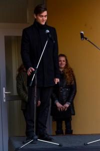 Babits Gimnázium szoboravatón