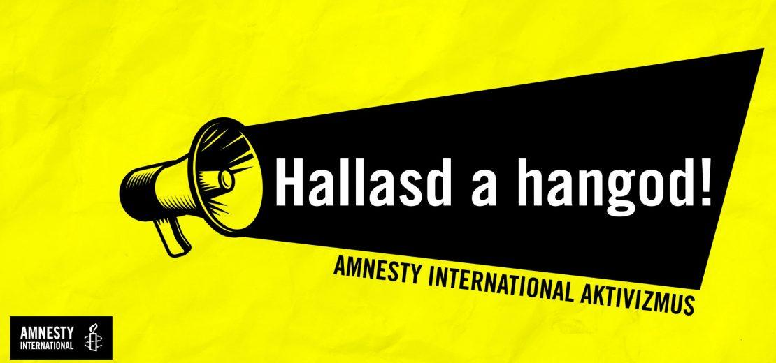 Amnesty International Aktivizmus