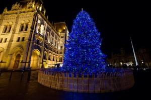 Kossuth téri karácsonyfa