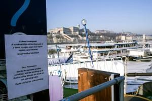 Hajózási zárlat a Dunán
