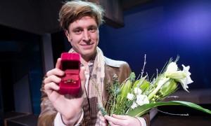 Wunderlich József Ruttkai Éva-emlékgyűrűt kapott