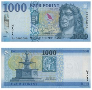 1000 forintos