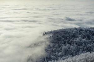 Felhőtakaró Tokaj-hegyen